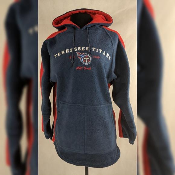 NFL Tops | Titans Hoodie Vintage Fleece Pullover Hoodie | Poshmark  hot sale